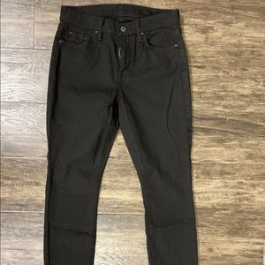 For all mankind black Skinny Jeans